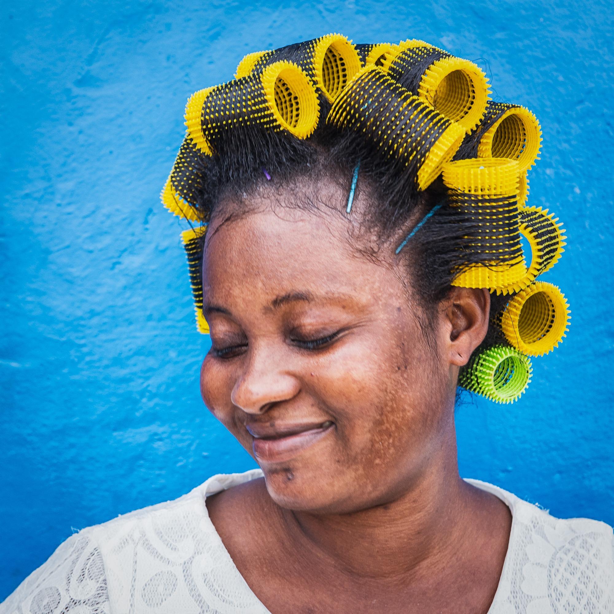 ghana woman hair