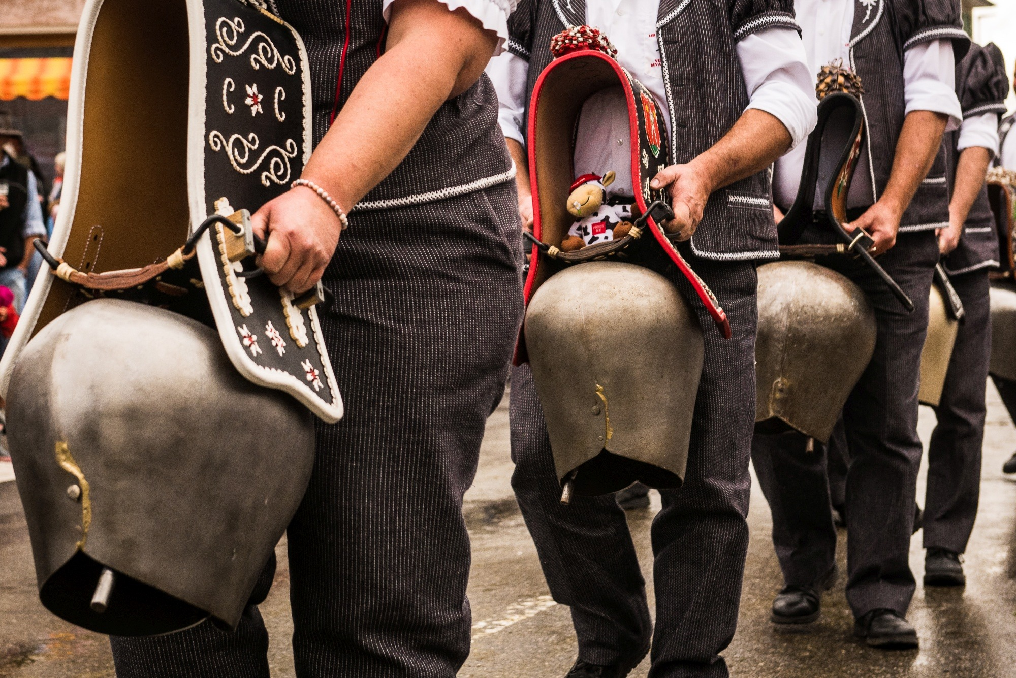 switzerland, desalp, bells