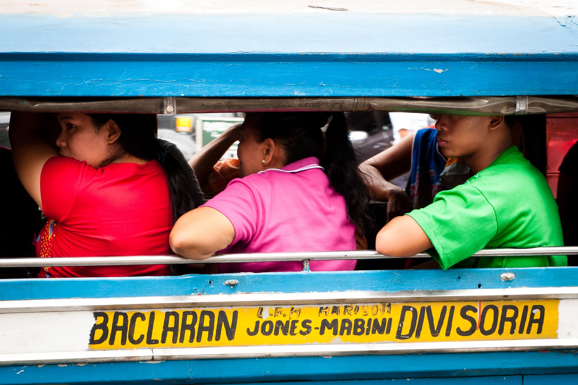 Philippines mannila jeepney
