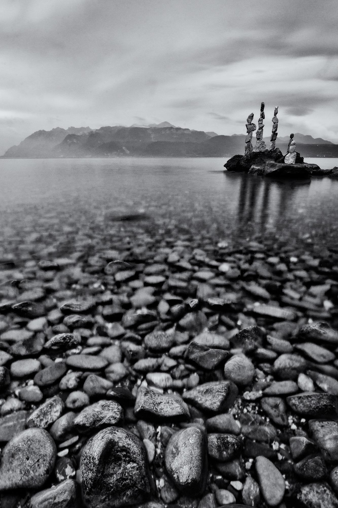 stones lake lausanne geneva